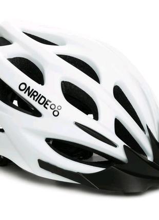 Шолом велосипедний ONRIDE Mount M 55-58 Білий 69078900054