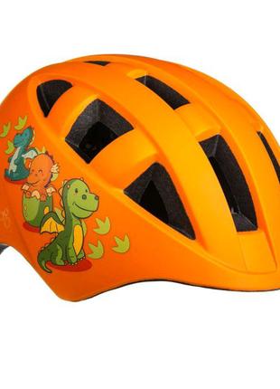 Велосипедний дитячий шолом ONRIDE Bud S M Оранжевий 693161012