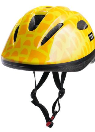 Велосипедний дитячий шолом Green Cycle FLASH XS   XXS Жовтий HEL-