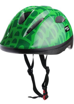 Велосипедний дитячий шолом Green Cycle FLASH XS, XXS  Зелений HEL