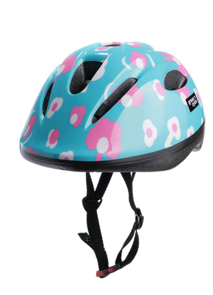 Велосипедний дитячий шолом Green Cycle MIA XS 50-54 Бірюзовий HEL