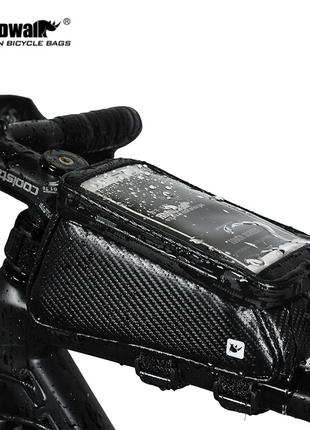 Сумка раму телефона водонепроницаемая Rhinowalk RK18335 велосумка
