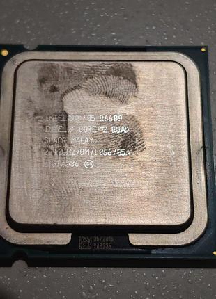 Процессор сокет 775 Intel Core 2 Quad Q6600 2.4GHz 8M 1066МГц 4-я