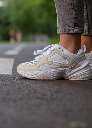 Nike M2K Tekno White\Beige