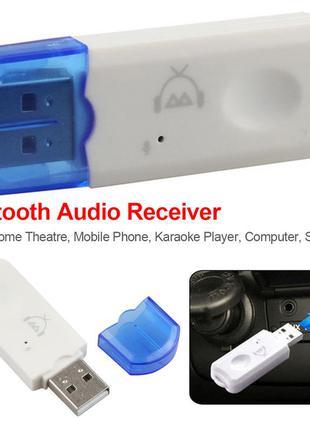Bluetooth приймач Ресивер трансмітер USB BT1 Адаптер Блютуз Музик