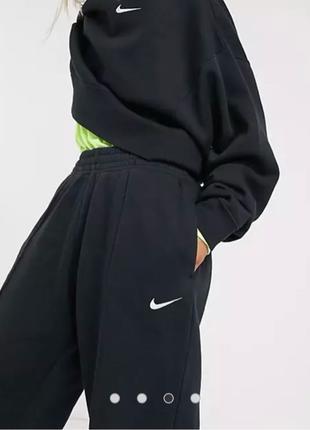 Nike mini Swoosh Joggers Black