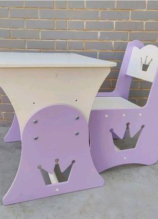 Детский стол, столик и стул, детская мебель