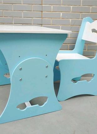 Детский стол и стул, столик для мальчика