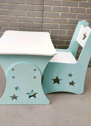 Детский стол, детская мебель, столик и стул