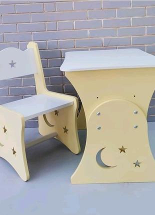 Стол и стул, детский столик, столик