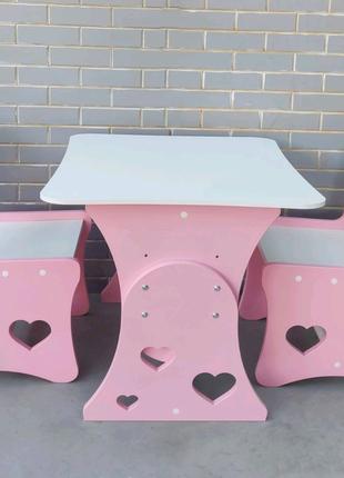 Детский стол, столик детский, стол и стул, детская мебель