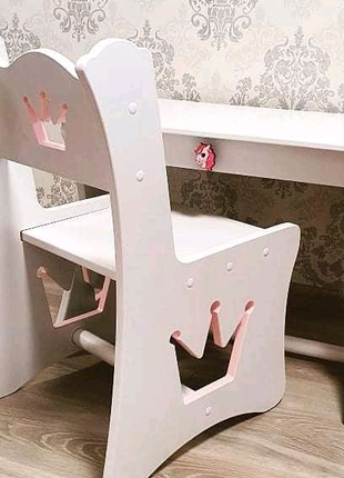 Стол и стул, детский столик, стол с ящиком