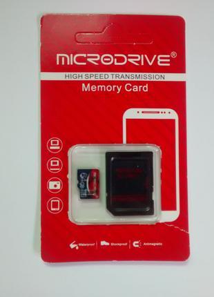 Карта памяти MicroDrive 64 Гб, Class 10, U3