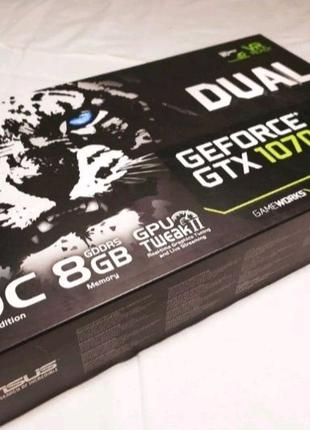 Видеокарта Geforce 1070 8gb