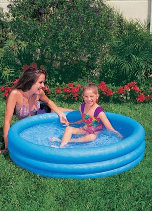 """Надувной бассейн Intex 59416 """"Кристалл"""" размер 114*25 см"""