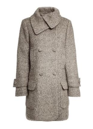 В наличии - буклированное деми-пальто *next* 12/40 р. - 58% ше...