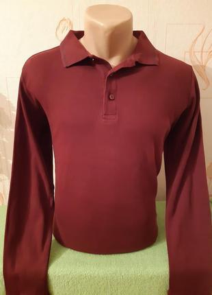 Трикотажная рубашка поло с длинными рукавами royal class, 100%...