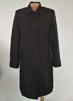 Тренч пальто плащ  дождевик приталенный с-м размер