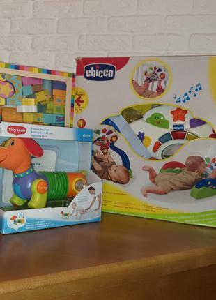Розвиваючі іграшки, центри, кубики, Chicco, Tiny Love