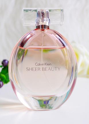 Calvin Klein Sheer Beauty Оригинал EDТ  5 мл Затест