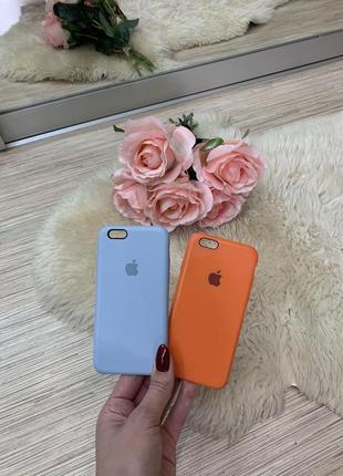 Силиконовый чехол apple silicone case для iphone 6/6s