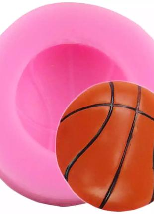 "Молд кондитерский ""Баскетбольный мяч"" - диаметр молда 4см"
