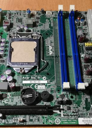 Материнская плата Acer H61H2-AD (s-1155) (под ремонт)