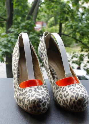 Акция трендовые леопардовые туфли 39-40   24 см