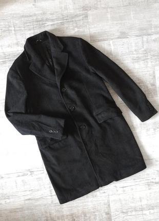 Кашемировое итальянское пальто унисекс {натуральное} principe