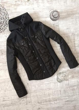 Крутая куртка стеганая весенняя деми на синтепоне voi jeans
