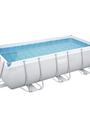 Каркасный прямоугольный бассейн Bestway