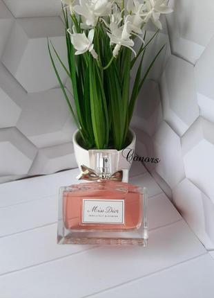 Sale❤ оригинал ❤100 мл dior miss dior absolutely blooming фрук...