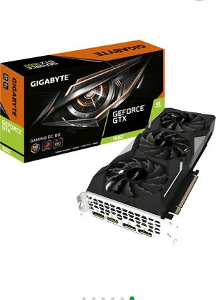 Gigabyte PCI-Ex GeForce GTX 1660 Gaming OC 6GB GDDR5 (192bit)