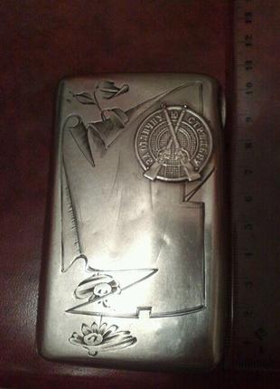 Антикварный портсигар с серебра
