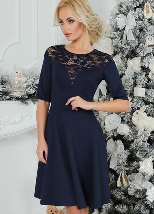 Вечернее стильное платье 48 размер