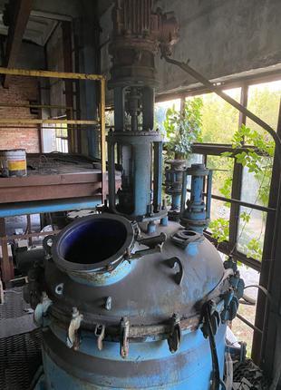 Реактор эмалированный 1,6м³