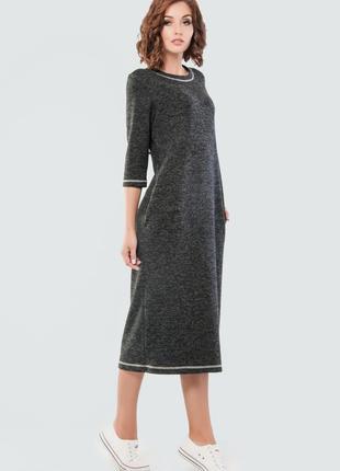 Стильное платье свободного стиля 52-54 размер
