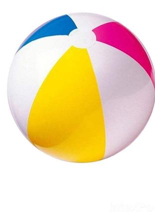 Детский надувной мяч для игр на воде и не только