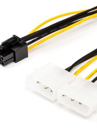 Кабель живлення Atcom 6 pin - 2 molex
