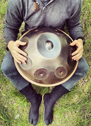 9-нотный Handpan Mini Ø45см (чехол в подарок) Ханг Hang Хендпан