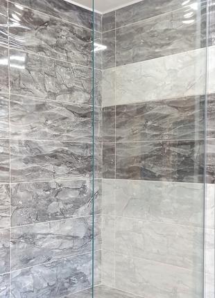 Душевая стенка Glassy Ice (100x200 см)