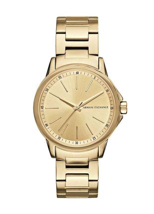 Жіночий годинник Armani Exchange Dress Watch AX4346 Golden