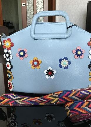 Яркая сумка на лето или для отдыха в тёплых странах