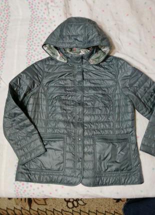 Куртка женская стеганая двусторонняя
