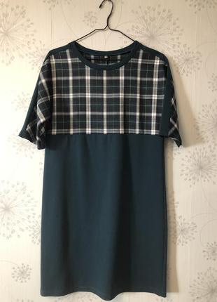 Платье в стиле школьной формы