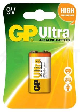 Батарейка щелочная GP 6LF22 9V «Ultra Alkaline» (1604AU-5UE1 )