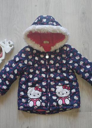 Детская демисезонная куртка курточка на девочку