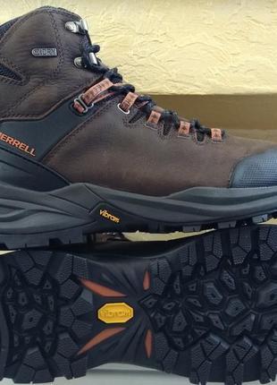 Зимние водонепроницаемые ботинки merrell men's phaserbound ори...