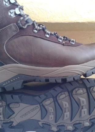Зимние водонепроницаемые ботинки merrell parkton trekker ориги...
