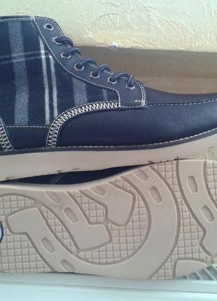 Кожаные ботинки dickies оригинал! -30%